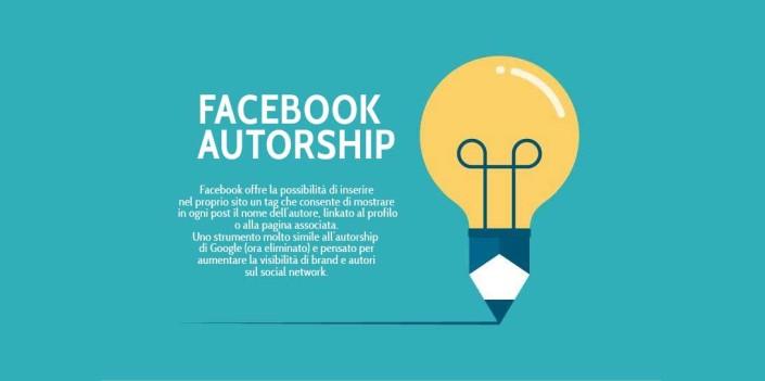 Facebook autorship